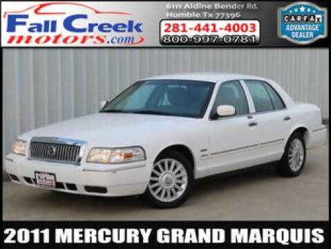 2011 Mercury Grand Marquis for sale at Fall Creek Motor Cars in Humble TX