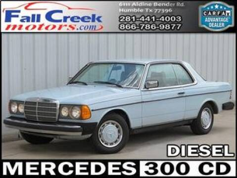 1978 Mercedes-Benz 300-Class for sale at Fall Creek Motor Cars in Humble TX