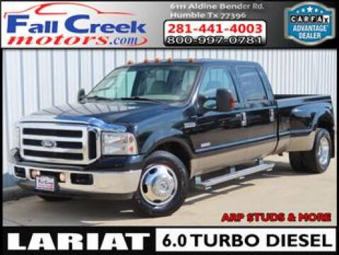 2006 Ford F-350 Super Duty for sale at Fall Creek Motor Cars in Humble TX