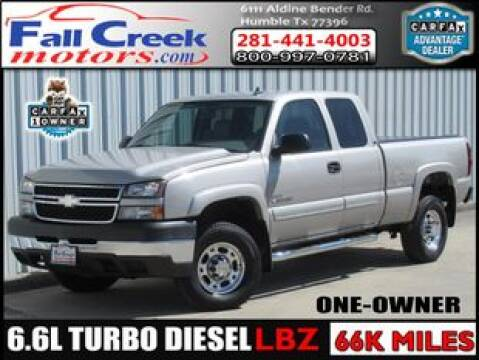 2007 Chevrolet Silverado 2500HD Classic for sale at Fall Creek Motor Cars in Humble TX