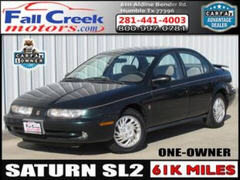 1998 Saturn S-Series for sale at Fall Creek Motor Cars in Humble TX