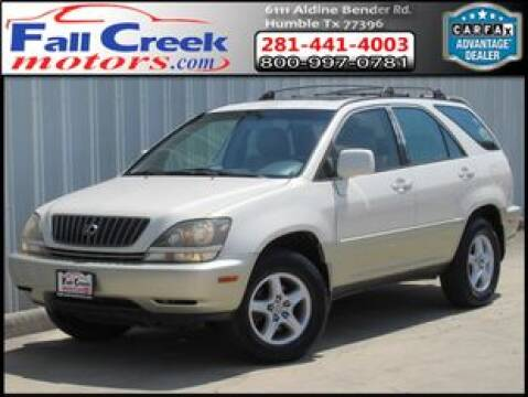 1999 Lexus RX 300 for sale at Fall Creek Motor Cars in Humble TX