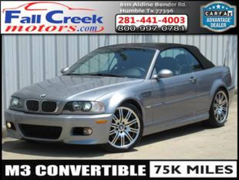 2005 BMW M3 for sale at Fall Creek Motor Cars in Humble TX
