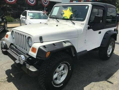 2000 Jeep Wrangler for sale in Fenton, MI