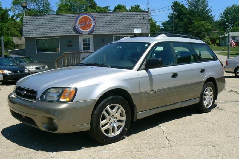 2003 Subaru Outback Awd 4dr Wagon In Fenton Mi Good Car Company