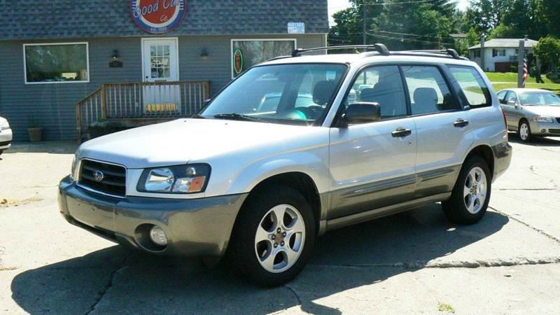 2003 subaru forester awd xs 4dr wagon in fenton mi good. Black Bedroom Furniture Sets. Home Design Ideas