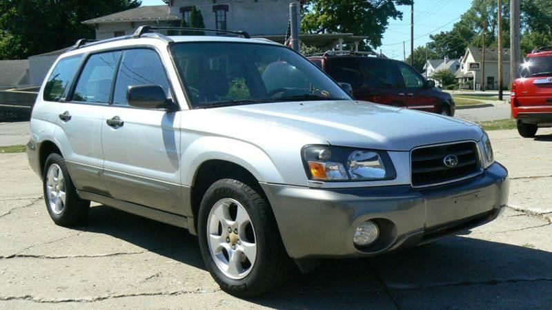 2003 subaru forester awd xs 4dr wagon in fenton mi good car company. Black Bedroom Furniture Sets. Home Design Ideas