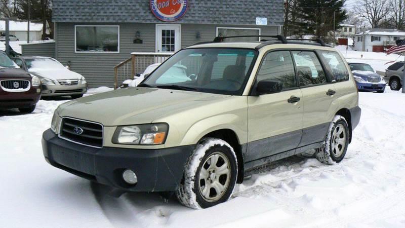 2004 subaru forester awd x 4dr wagon in fenton mi good. Black Bedroom Furniture Sets. Home Design Ideas