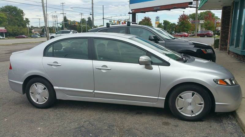 2008 honda civic hybrid 4dr sedan w navi in fenton mi good car company. Black Bedroom Furniture Sets. Home Design Ideas