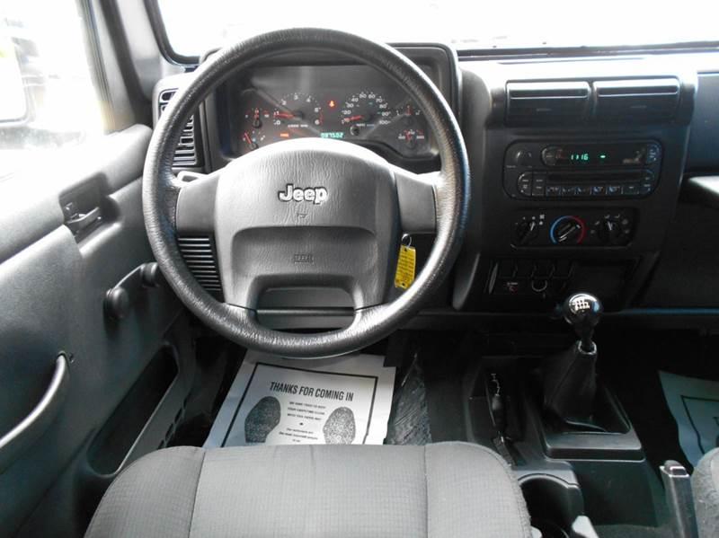 2006 Jeep Wrangler SE 2dr SUV 4WD - Arlington VA