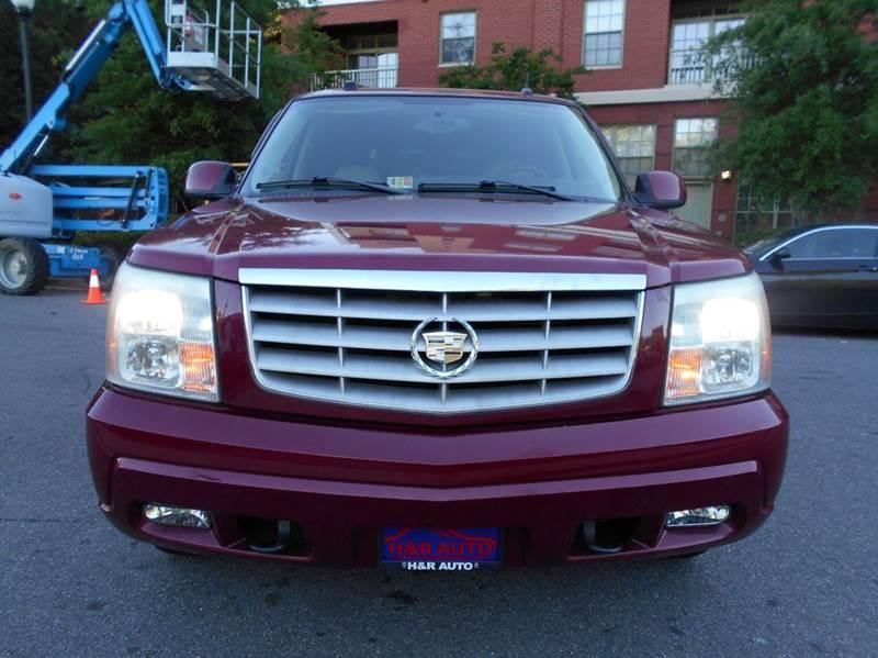 2005 Cadillac Escalade AWD 4dr SUV - Arlington VA