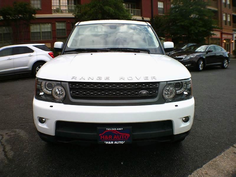 2011 Land Rover Range Rover Sport 4x4 HSE 4dr SUV - Arlington VA