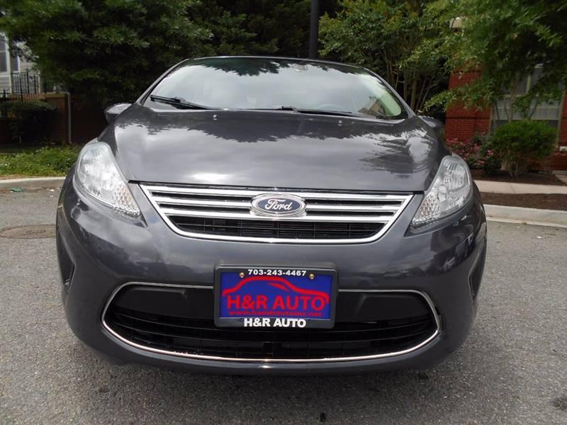 2012 Ford Fiesta SE 4dr Sedan - Arlington VA