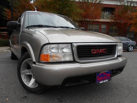 2002 GMC Sonoma for sale in Arlington, VA
