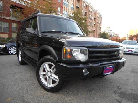 2004 Land Rover Discovery for sale at H & R Auto in Arlington VA