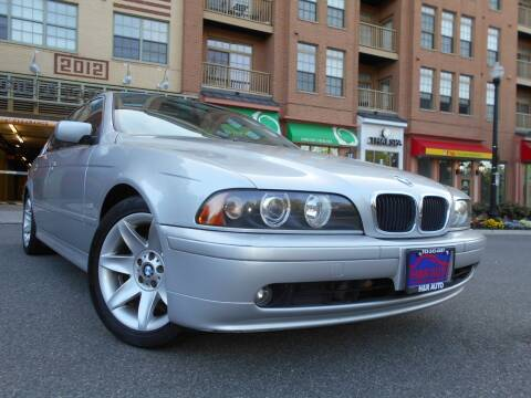 2002 BMW 5 Series for sale at H & R Auto in Arlington VA