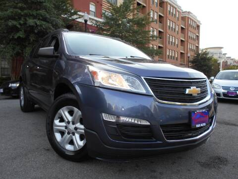 2014 Chevrolet Traverse for sale at H & R Auto in Arlington VA