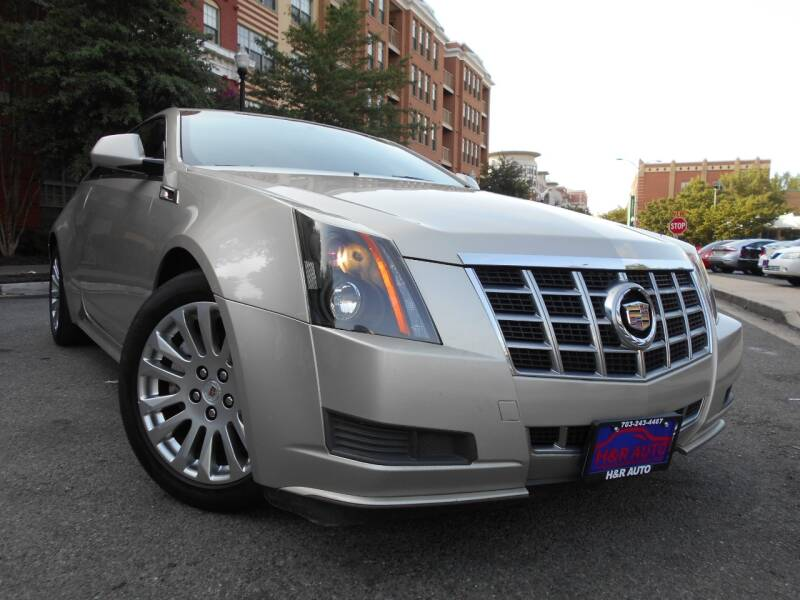 2013 Cadillac CTS for sale at H & R Auto in Arlington VA