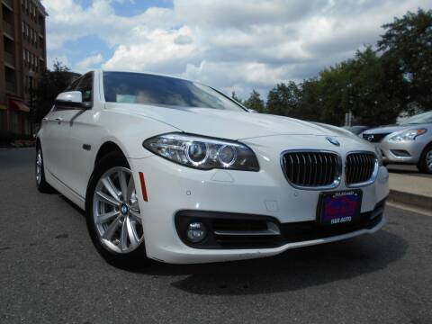 2015 BMW 5 Series for sale at H & R Auto in Arlington VA