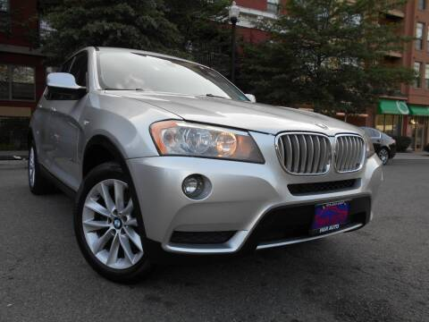 2013 BMW X3 for sale at H & R Auto in Arlington VA