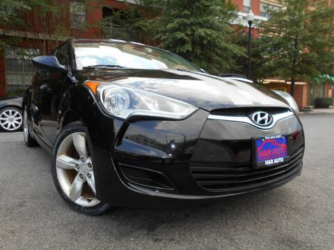 2013 Hyundai Veloster for sale at H & R Auto in Arlington VA