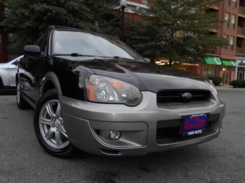2005 Subaru Impreza for sale at H & R Auto in Arlington VA