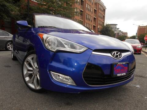 2012 Hyundai Veloster for sale at H & R Auto in Arlington VA