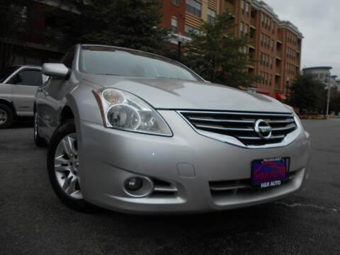 2011 Nissan Altima for sale at H & R Auto in Arlington VA