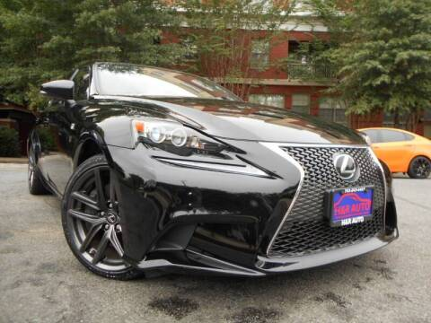 2014 Lexus IS 350 for sale at H & R Auto in Arlington VA