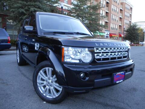 2012 Land Rover LR4 for sale at H & R Auto in Arlington VA