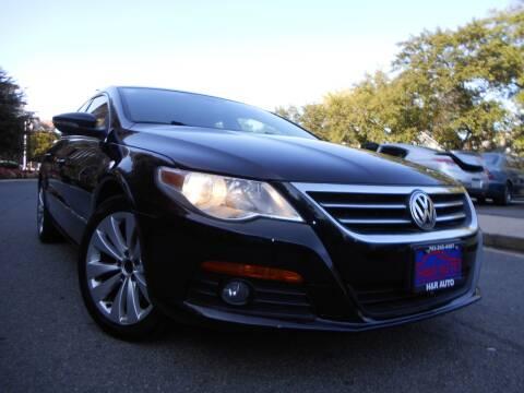 2009 Volkswagen CC for sale at H & R Auto in Arlington VA