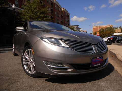 2016 Lincoln MKZ for sale at H & R Auto in Arlington VA