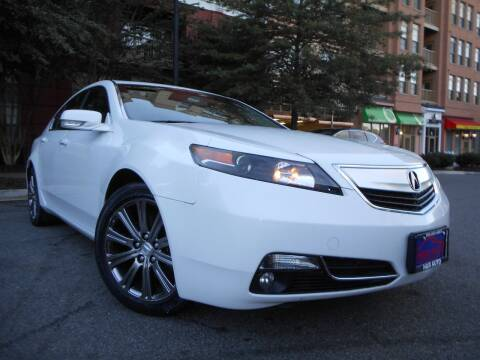 2014 Acura TL for sale at H & R Auto in Arlington VA