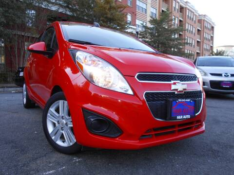 2015 Chevrolet Spark for sale at H & R Auto in Arlington VA