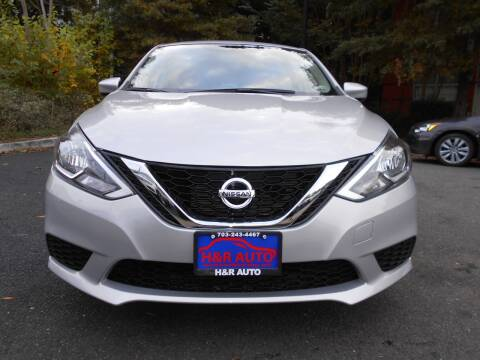 2016 Nissan Sentra for sale at H & R Auto in Arlington VA