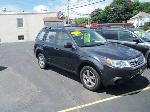2012 Subaru Forester for sale in Fitchburg, MA