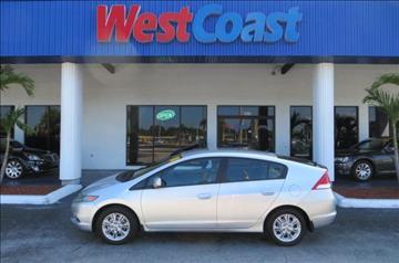 2010 Honda Insight for sale at West Coast Car & Truck Sales Inc. in Saint Petersburg FL