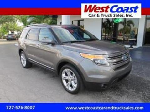 2012 Ford Explorer for sale at West Coast Car & Truck Sales Inc. in Saint Petersburg FL