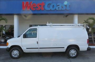 2007 Ford E-Series Cargo for sale at West Coast Car & Truck Sales Inc. in Saint Petersburg FL
