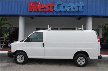 2014 Chevrolet Express Cargo for sale at West Coast Car & Truck Sales Inc. in Saint Petersburg FL