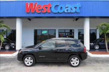 2014 Jeep Compass for sale at West Coast Car & Truck Sales Inc. in Saint Petersburg FL