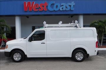 2012 Nissan NV Cargo for sale at West Coast Car & Truck Sales Inc. in Saint Petersburg FL