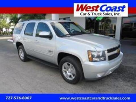 2012 Chevrolet Tahoe for sale at West Coast Car & Truck Sales Inc. in Saint Petersburg FL