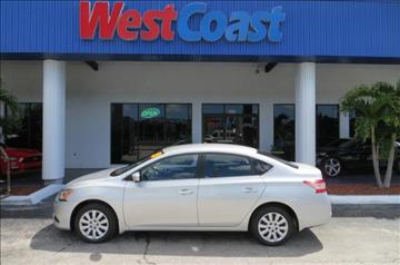 2015 Nissan Sentra for sale at West Coast Car & Truck Sales Inc. in Saint Petersburg FL