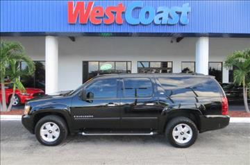 2007 Chevrolet Suburban for sale at West Coast Car & Truck Sales Inc. in Saint Petersburg FL