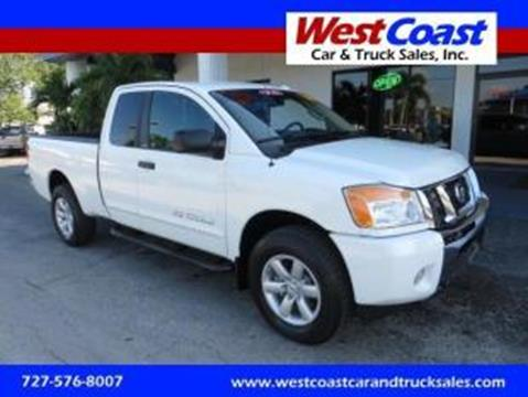 2014 Nissan Titan for sale in Saint Petersburg, FL