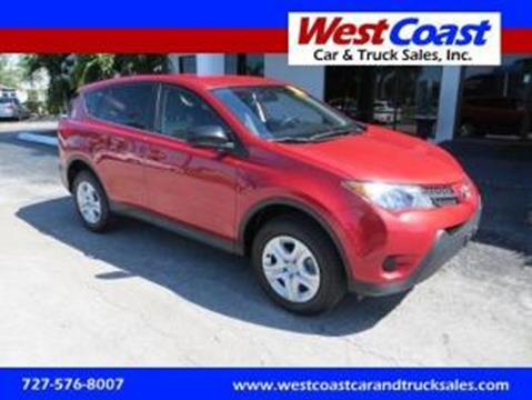 2014 Toyota RAV4 for sale at West Coast Car & Truck Sales Inc. in Saint Petersburg FL