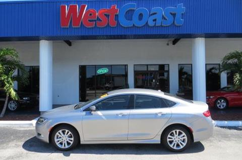 2015 Chrysler 200 for sale at West Coast Car & Truck Sales Inc. in Saint Petersburg FL