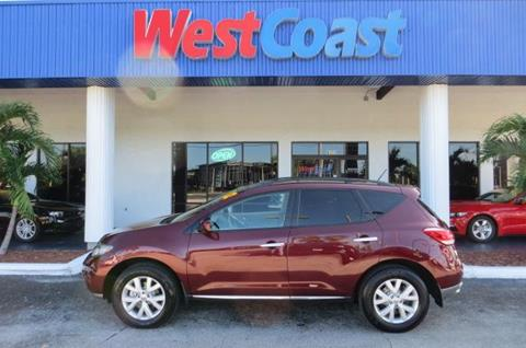 2012 Nissan Murano for sale at West Coast Car & Truck Sales Inc. in Saint Petersburg FL