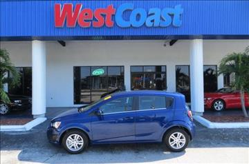 2013 Chevrolet Sonic for sale at West Coast Car & Truck Sales Inc. in Saint Petersburg FL